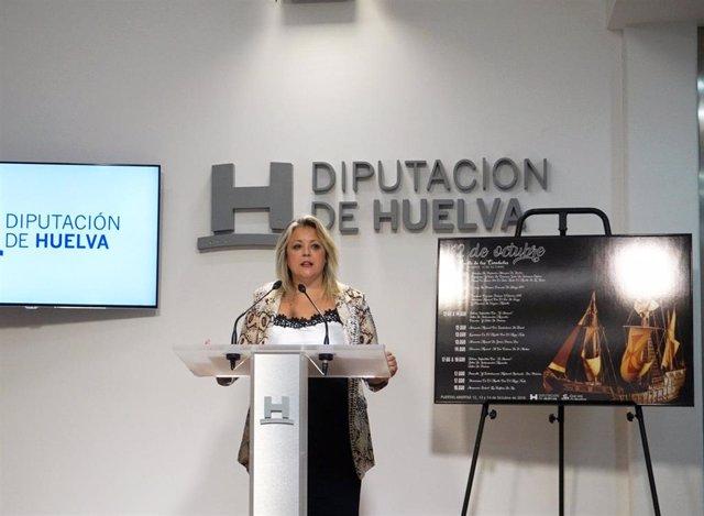 La diputada de Cultura, Lourdes Garrido.