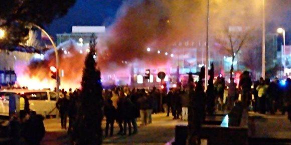 1. Huelga de taxis | Directo: Samur atiende a 11 personas durante las protestas, cinco de ellos policías