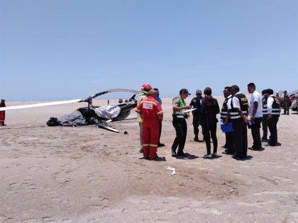 Mueren dos militares al estrellarse un helicóptero del Ejército en Perú