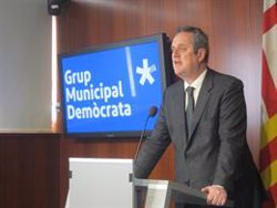 Puigdemont i Bonvehí defensen la candidatura de Forn a Barcelona (EUROPA PRESS - Archivo)