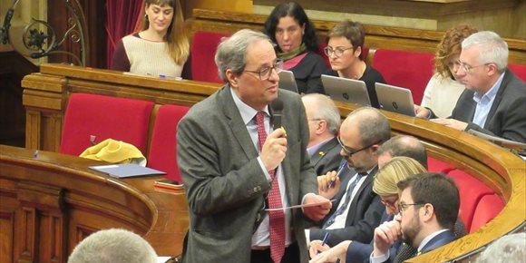 9. El Govern denunciará este miércoles a la Policía por la detención de alcaldes en Girona