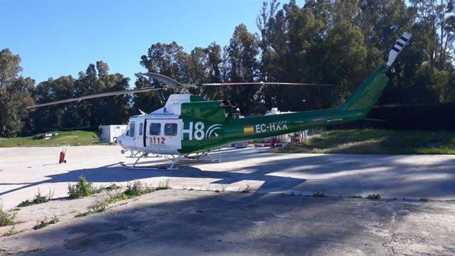 Imagen de archivo de un helicóptero del Infoca