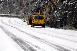La nevada enfarina els punts més elevats de la Noguera (ACN)