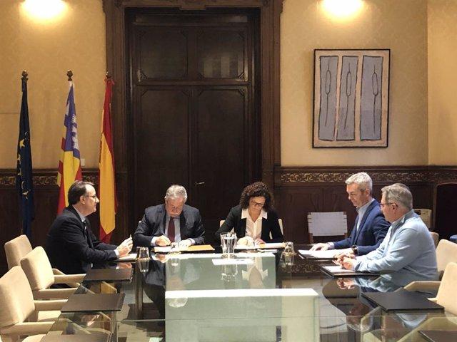 Jesús Fernández, Eduardo Soriano, Catalina Cladera, José Luis Gil i Joan Lloren