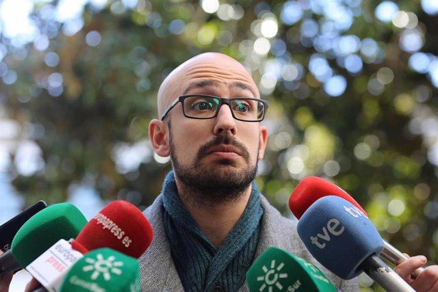 Pablo Pérez (Secretaría Política y de Comunicación de Podemos Andalucía)