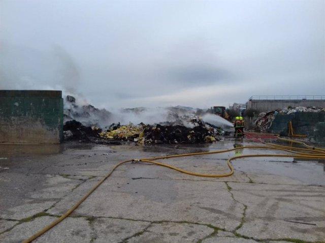 Situación actual del incendio de Pradejón