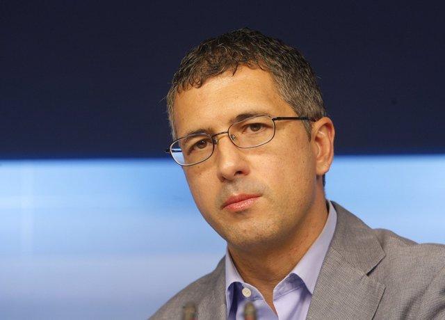 Hugo Morán, secretario de Medio Ambiente del PSOE