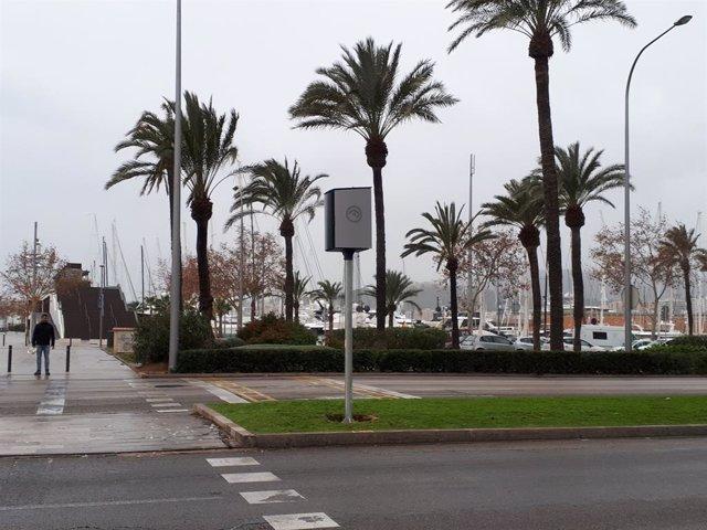 Radars de control de velocitat a Palma