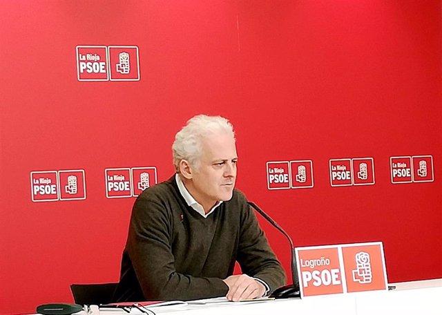Pablo Hermoso de Mendoza, en la rueda de prensa