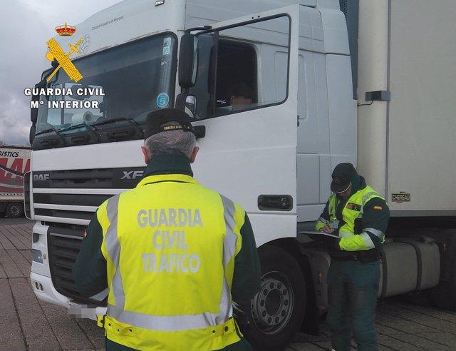 Nota De Prensa Seguridad Vial. Guardia Civil Burgos