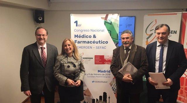 I Congreso Nacional Médico-Farmacéutico, organizado por SEFAC y SEMERGEN