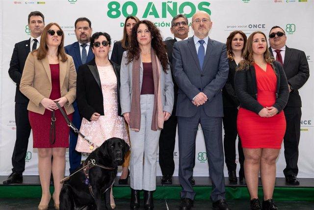 Rocío Ruiz preside el acto de constitución del nuevo Consejo Territorial de ONCE