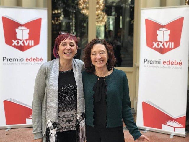 Maite Carranza y Elia Barceló