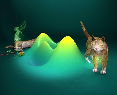 Recreación óptica del experimento del gato de Schrödinger