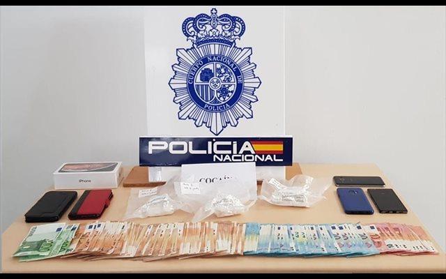 Desarticulado con seis detenciones en las localidades gaditanas de Jerez y Conil un grupo de distribución de cocaína