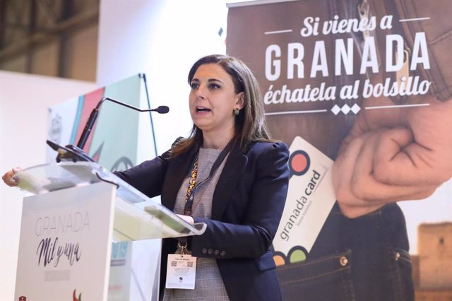La concejal de Turismo, Raquel Ruz, en Fitur
