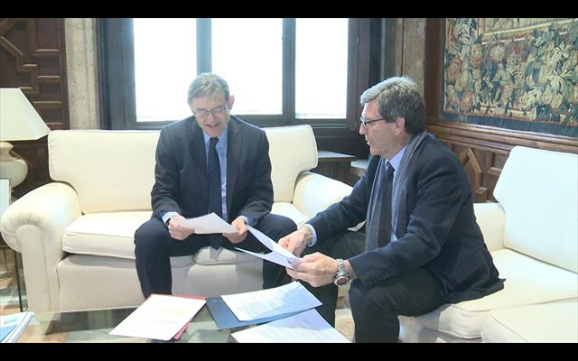 APV y Fomento destinarán 400 millones a la construcción de un túnel bajo el mar para el acceso norte