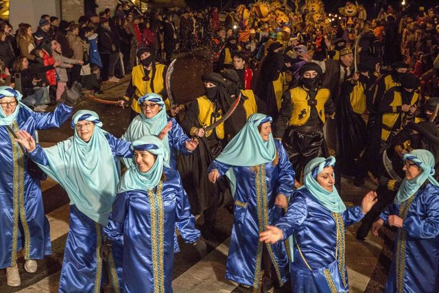 Desfile de carnaval de Camargo