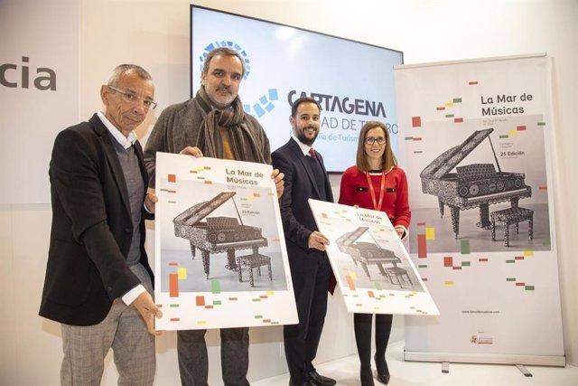 Portugal, país invitado en la 25 edición de la Mar de Músicas