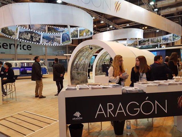 Stand de Aragón en Fitur