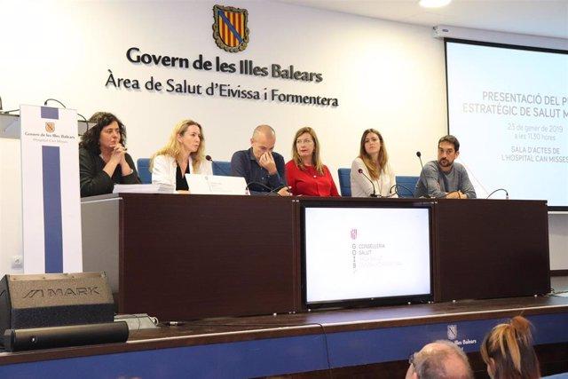 Patricia Gómez anuncia en Ibiza el hospital de día de patología dual