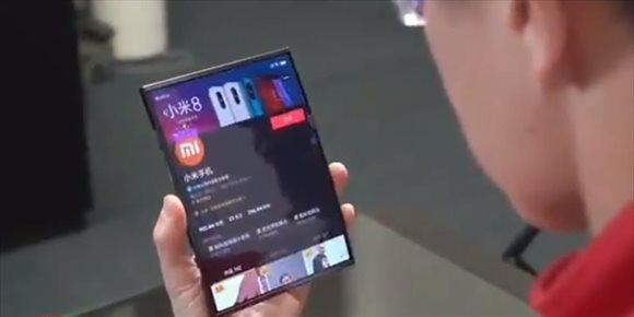 2. Xiaomi muestra su prototipo de móvil con pantalla plegable