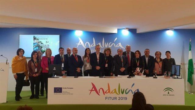 Firma convenio Andalucía Film Comission