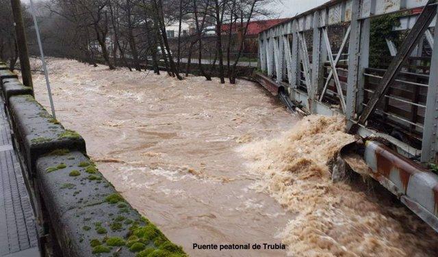 Imagen del puente de Trubia.
