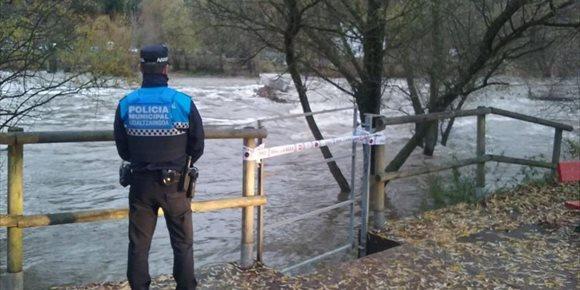 8. Pamplona activa el nivel de alerta por riesgo de inundaciones