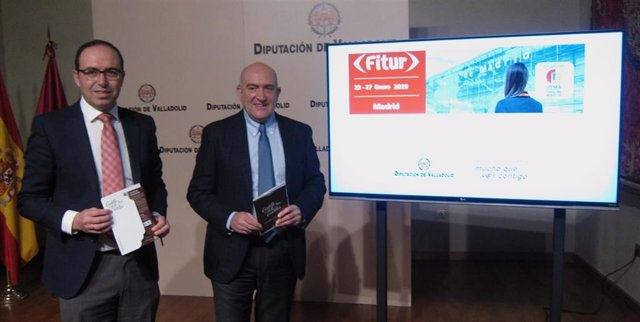 Presentación de la oferta turística de la Diputación en Fitur. 18-1-19