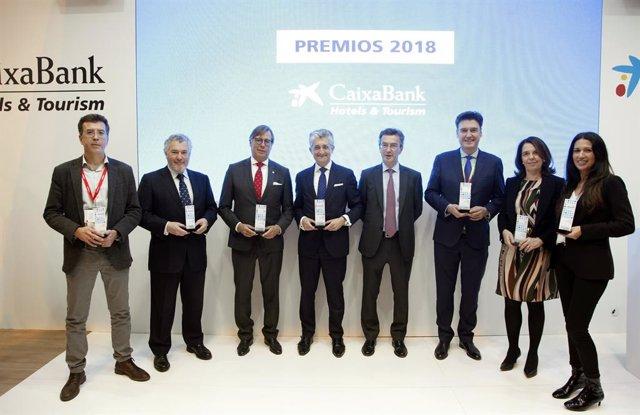 Ganadores de los premios Hotels & Tourism de CaixaBank