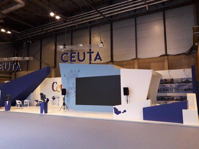 Espacio de Ceuta en Fitur