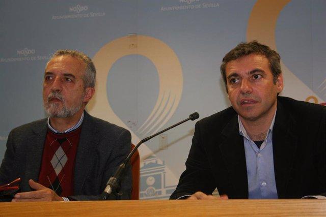 Flores y Felipe Castro
