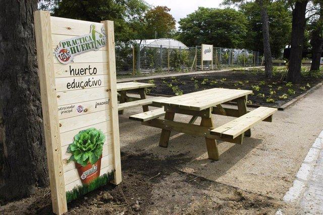Huerto En El Parque De El Retiro