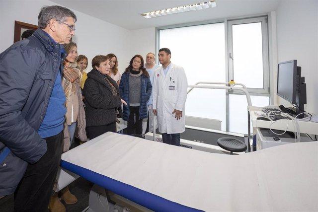 Real visita los nuevos servicios del Centro de Especialidades de Castro