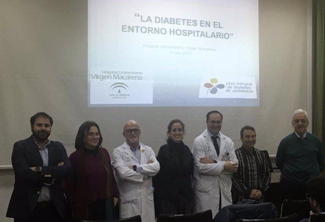Hospital Macarena celebra una jornadas sobre diabetes en el entorno hospitalario