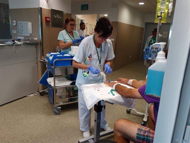 Hospital Costa del Sol enfermera (Archivo)