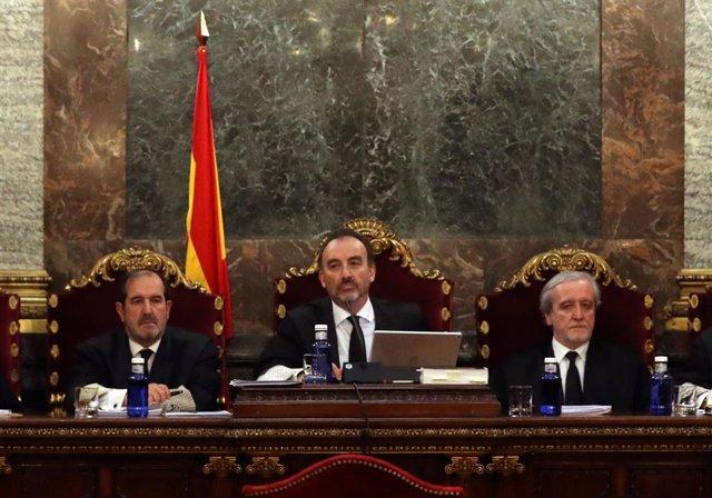Manuel Marchena, al tribunal suprem (Arxiu)