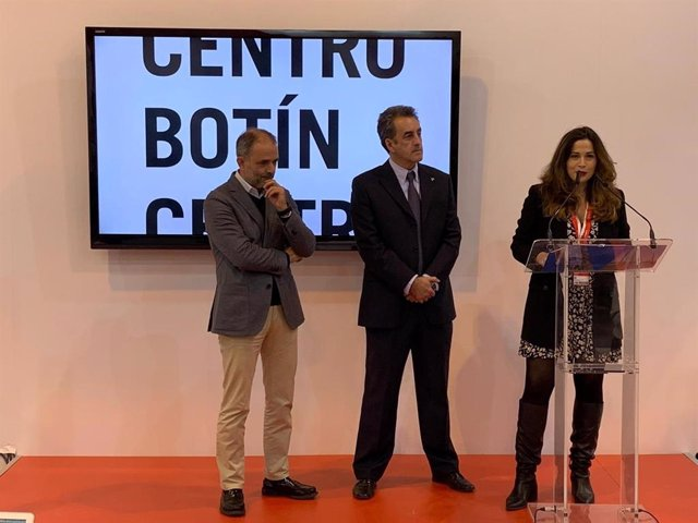 La concejala de Cultura y Turismo en el balance de actividad del Centro Botín