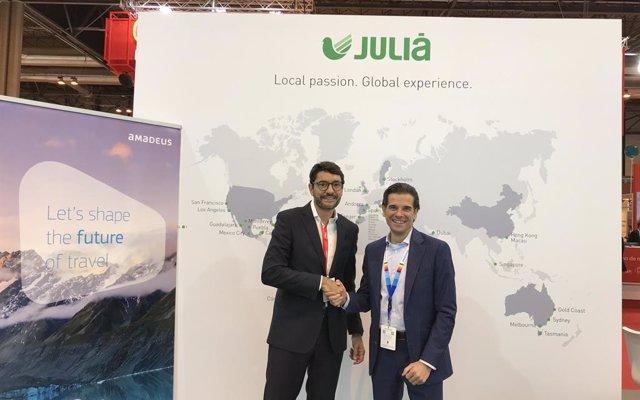 Fitur.- Julià crea una plataforma de distribución multicanal de la mano de Amadeus