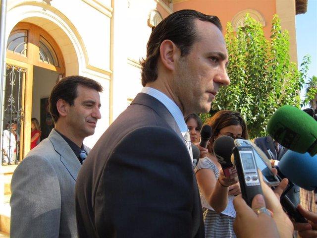 Biel Compan y José Ramón Bauzá
