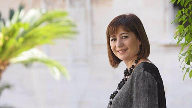 Francina Armengol en un imatge d'arxiu