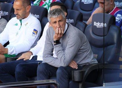 """Setién: """"No estamos en ese momento de pesimismo en que está el Espanyol"""""""