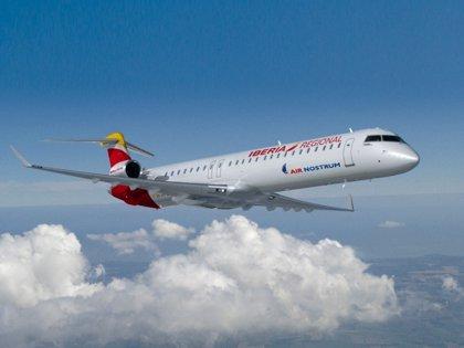 Air Nostrum refuerza el jueves sus vuelos de Melilla tras las suspensiones por el viento