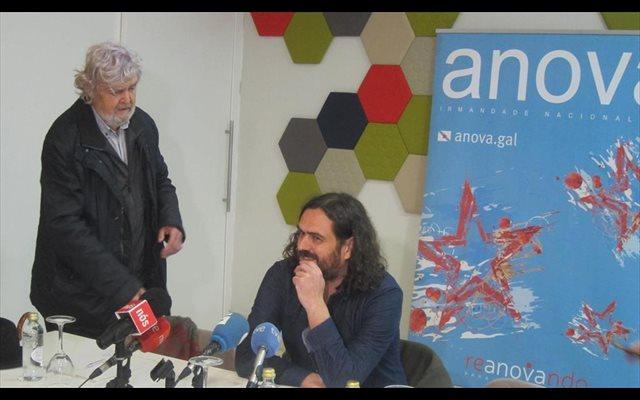 Anova se ofrece a Bildu, ERC y BNG para concurrir en su candidatura a las elecciones europeas