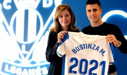 Bustinza renueva con el Leganés hasta 2021