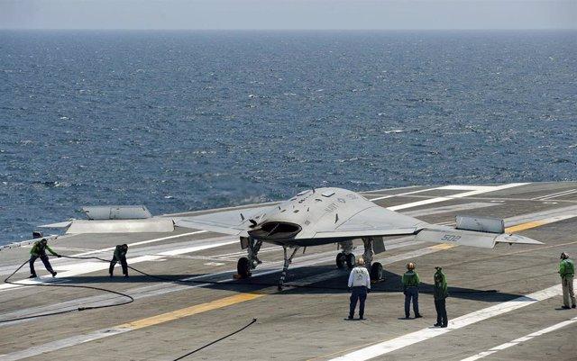 Avión drone de combate de EEUU