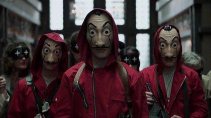 La Fundació Dalí pone en manos de abogados las máscaras de 'La casa de papel'