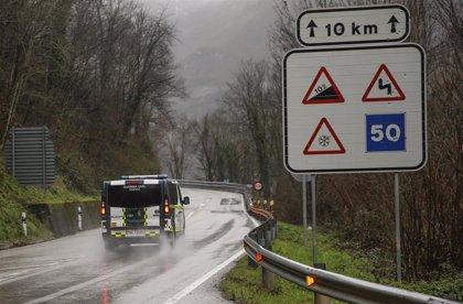 Asturias tiene en estos momentos 159 incidentes registrados por inundaciones y cortes en la red viaria