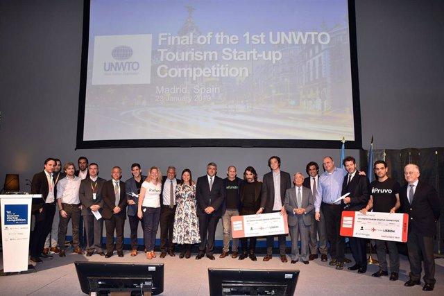 I Competición de Start-ups de Turismo, organizada por la OMT y Globalia